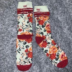 Vans Floral Socks